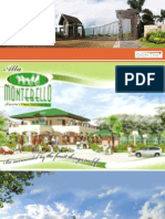 Alta Montebello Tagaytay H&L or Lot for Sale