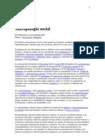 -Antropología social