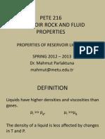 5 Liquid Properties