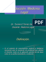Intro Medi Leg Dr. Torrez