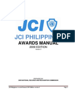 Jci Philippines Awards Manual - 2009 Edition v3
