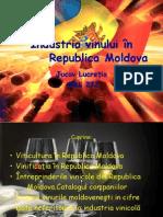 Industria vinului în Republica Moldova