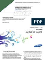 Samsung Galaxi Ace Manual
