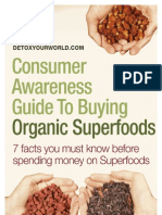 Consumer Awareness Guide Buying Organic Superfoods