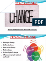 Types of Change -Session 5
