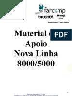 Brother - Material de Apoio Linha 8000