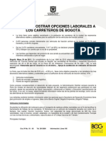 Mayo 26 de 2011 - Boletin Feria Opciones Laborales Para Propietarios y Trabajadores VTA