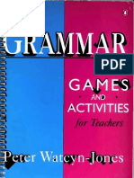 80536178 Grammar Games and Activities Peter Watcyn Jones