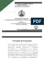 Evaluacion Del Aprendizaje Copy