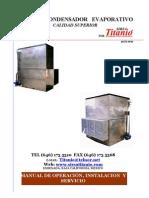 Manual de Condensadores Evaporativos