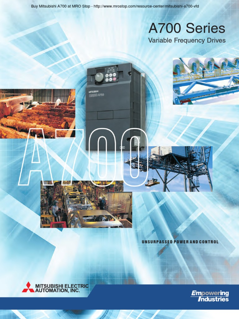 Mitsubishi A700 Series Vfd Brochure Power Inverter Supply Forward And Reverse Operation Of The Dynamic Braking Circuit 2