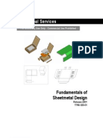 PTC Pro ENGINEER 2001 Fundamentals of Sheetmetal Design WW