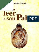Para Leer a San Pablo