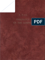 Philology of the Gospels