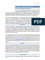 Executive MBA Module Description Draft