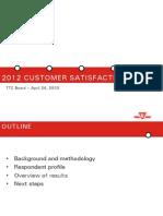 TTC Customer Satisfaction Survey