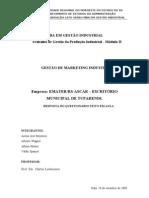 Gestaode Marketing Industrial QUESTIONARIO[2][1]