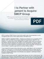 KKR to Partner With Management to Acquire SMCP Group