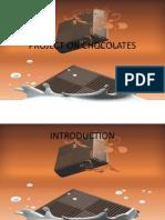 Project on Chocolates