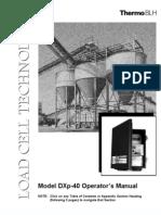 DXP40 Instruction Manual