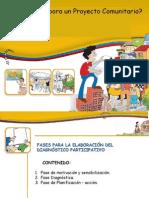 COMO SE ELABORA EL PROYECTO COMUNITARIO (FASES).ppt