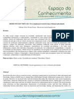 REDES SOCIAIS VIRTUAIS Nova organização social de uma civili.pdf