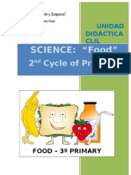 Unit Clil -FOOD- 2º Cycle