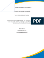 Caracterizacin Del Clima en El Distrito de Panam