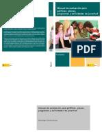 Manual de Evaluacin Para Polticas Planes Programas y Actividades de Juventud