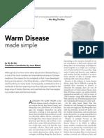 Warm Disease Made Simple