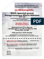 Assemblyman McLaughlin's Family + Friends Fundraiser!