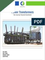 Luckyindia CGL Power Transformer Catalogue