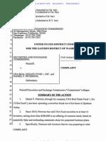 SEC complaint against Daniel F. Peterson