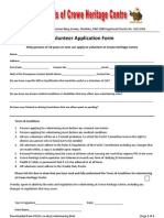 Volunteer Application Pack
