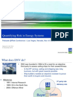 Quantifying Risk Energy Systems