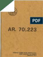 Beretta AR70 Manual
