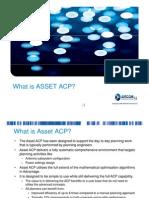 ASSET ACP Quick Summary