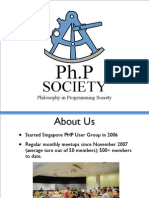 Introduction to Ph.P Society