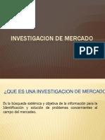 8. Investigacion de Mercado