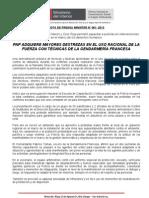 PNP ADQUIERE MAYORES DESTREZAS EN EL USO RACIONAL DE LA FUERZA CON TÉCNICAS DE LA GENDARMERÍA FRANCESA