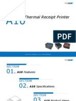 POSBANK A10 Thermal Receipt Printer