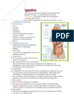 Resumen Biologia Sistema Digestivo