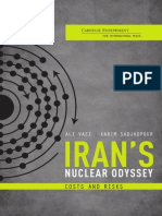 Iran's Nuclear Odyssey
