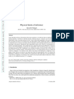 Physical Limits of Inference