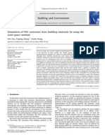Simulation of VOC emissionsfrombuildingmaterialsbyusingthe state-spacemethod
