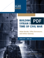 Building a Syrian State in a Time of Civil War
