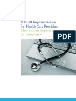 ICD 10ImplementationforHealthCareProviders 0810