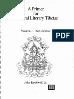 Rockwell_A Primer for Classical Literary Tibetan-V1