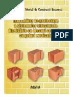 Indrumator proiectare zidarie