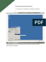 Activación de Active Directory